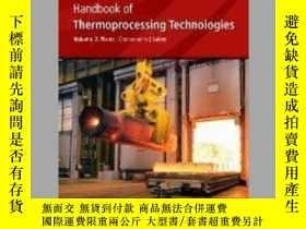 二手書博民逛書店Handbook罕見of Thermoprocessing Technologies: Plants, Compo