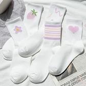 運動襪長襪純棉中筒襪長筒夏季薄款【少女顏究院】