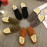 冬季冬鞋保暖加絨百搭正韓雪地靴女短筒短靴平底學生棉鞋【七夕節鉅惠】