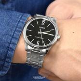 CASIO手錶 極簡數字黑色鋼錶NECE1