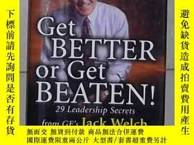 二手書博民逛書店英文原版罕見Get Better Or Get Beaten b