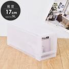 收納/衣物整理箱/收納箱/置物箱 凱堡 9L抽屜式整理箱【LF1701】
