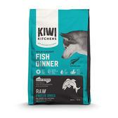【Kiwi Kitchens】奇異廚房 野撈鮮魚佐鮭魚綠唇貝 425克 X 1包