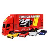特價 TOMICA小汽車組 賽車運輸車_TM88347