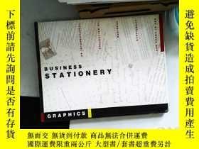 二手書博民逛書店BUSIN罕見ESS STATIONERY 文具設計畫冊Y13606