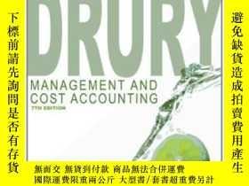 二手書博民逛書店Management罕見And Cost AccountingY364682 Colin Drury Ceng