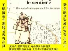 二手書博民逛書店法國版罕見la route ou le sentier:des