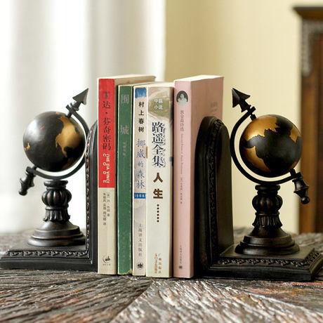 家居裝飾品書房擺件地球儀書立