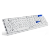 全館83折無線鍵盤辦公家用臺式機電腦靜音筆記本外接USB機械手感