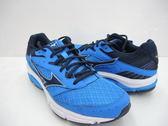 美津濃 MIZUNO 男慢跑鞋 WAVE SURGE  (藍)   避震平行波浪片鞋款 J1GC171318【 胖媛的店 】