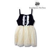 女童洋裝/細肩帶棉質紗裙洋裝/RQ POLO /小童春夏童裝[91184]