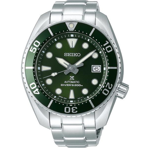 【台南 時代鐘錶 SEIKO】精工 Prospex 兩百米專業潛水機械錶 SPB103J1@6R35-00A0G 綠/銀 45mm
