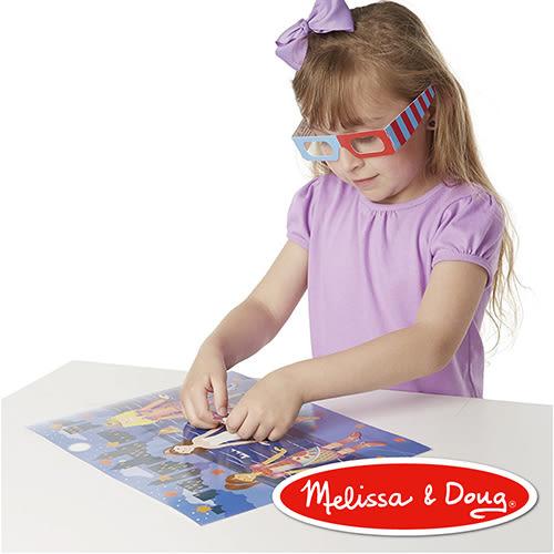 美國瑪莉莎 Melissa & Doug 美勞創意 - 可重複貼貼紙收藏簿 3D 時尚穿搭