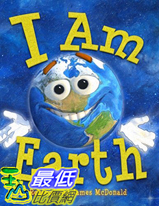[106美國直購] 2017美國暢銷兒童書 I Am Earth: An Earth Day Book for Kids Paperback