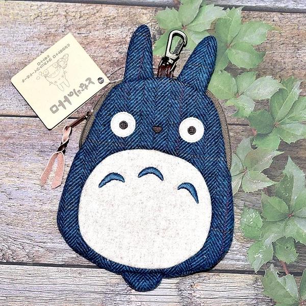 TOTORO 龍貓 布質 鑰匙扣 錢包 吊飾 日本正版