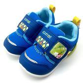 《7+1童鞋》小童 MOONSTAR CARROT 玩耍系列 健康機能童鞋 運動鞋 學步鞋 C441 藍色