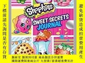 二手書博民逛書店Shopkins罕見Sweet Secrets Journal