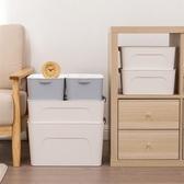 塑料大號收納盒衣服收納盒有蓋衣柜抽屜整理箱家用床底衣物儲物箱wy【快速出貨】