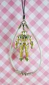 【震撼精品百貨】日本精品百貨-手機吊飾/鎖圈-鋼鐵吉克系列-鐵