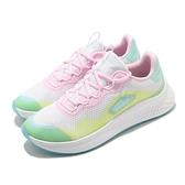 adidas 慢跑鞋 Primrose Sleek 白 粉 綠 女鞋 厚底 微增高 運動鞋【ACS】 FZ3215