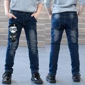 童裝男童牛仔褲春秋新款春裝兒童韓版中大童洋氣小腳褲子潮童 Korea時尚記
