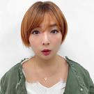 全頂假髮  顯白橘色假髮 海賊王娜美短髮 D3098  魔髮樂