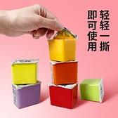 水彩顏料 青竹水粉顏料套裝果凍裝42色初學者學生用兒童水彩小盒便攜工具套裝 夢藝家