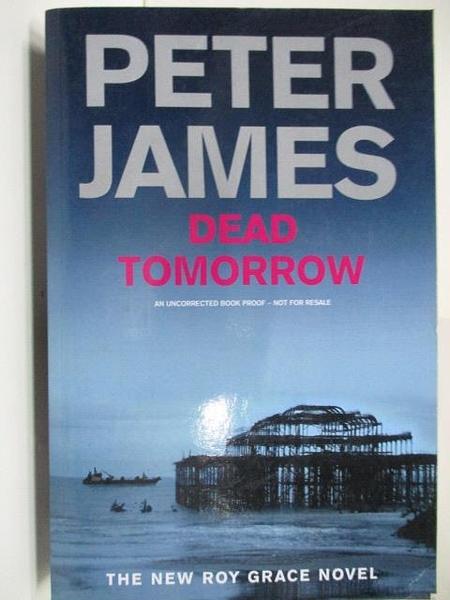 【書寶二手書T4/原文小說_DH5】Dead Tomorrow_Peter James