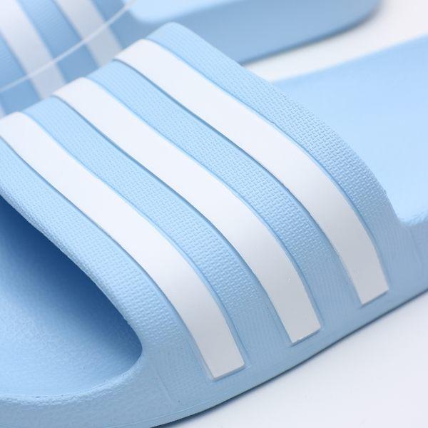 ADIDAS ADILETTE SHOWER 水藍 運動拖鞋 男鞋 女鞋 涼拖鞋 舒適好穿 (布魯克林) EE7346