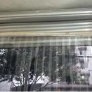 門簾夏季空調透明PVC塑料家用...