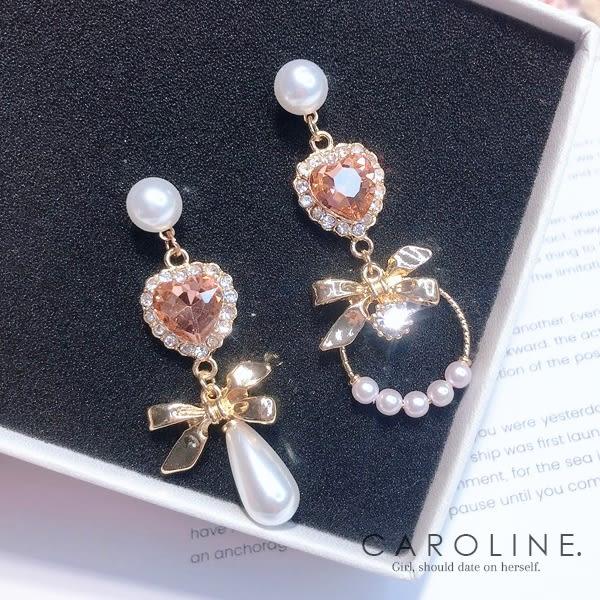《Caroline》★韓國熱賣造型時尚 高雅大方設計  夾式耳環70550