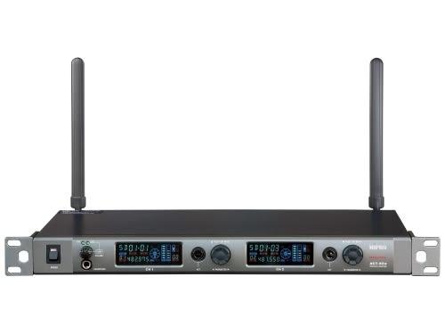 ^聖家^MIPRO 嘉強寬頻數位1U雙頻道接收機 ACT-82a【全館刷卡分期+免運費】