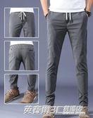 夏季超薄款冰絲西裝褲子男裝商務修身型小腳西褲正裝長褲男休閒褲英賽爾3c