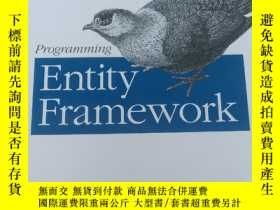 二手書博民逛書店Programming罕見Entity Framework【英文