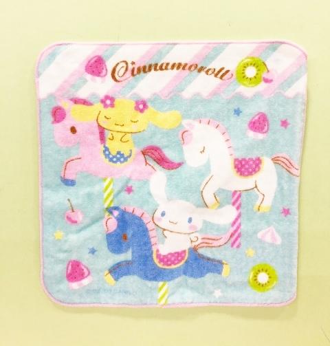 【震撼精品百貨】大耳狗_Cinnamoroll~大耳狗喜拿小方巾#68581