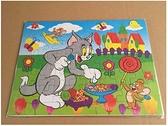 拼圖 六一禮物紙質拼圖幼兒童寶寶早教益智力2-6歲男女孩積木組裝玩具 夢藝