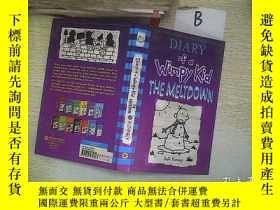 二手書博民逛書店Diary罕見of Wimpy a Kid the meltdo