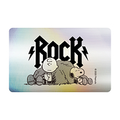 SNOOPY《Rock》一卡通