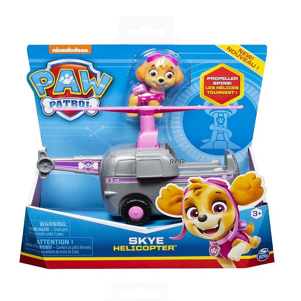 《 汪汪隊立大功 paw patrol 》基本車輛4 - 天天(紫) ╭★ JOYBUS玩具百貨