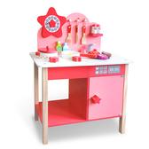 樂兒學嚴選 星光木製學習積木廚房玩具組(BTK328)