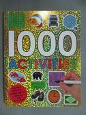 【書寶二手書T5/少年童書_GFT】1000 Activities_Priddy Books