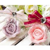 婚禮小物-精巧單包裝玫瑰皂-送客禮/抽獎/贈品/來店禮/二次進場 幸福朵朵