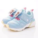 日本月星頂級童鞋 冰雪聯名電燈鞋款 DNC12445水藍(中小童段)