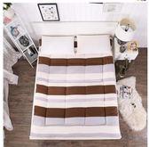 加厚1.8米榻榻米床墊學生宿舍床褥0.9米1.0m單人床igo Chic七色堇