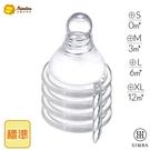 小獅王辛巴 Simba 超柔防脹氣標準十字奶嘴(S/M/L/XL孔)(4入)