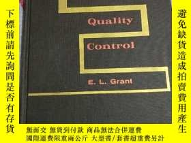 二手書博民逛書店Statistical罕見Quality Control(統計上的質量控制)Y232162 E.L.Grant