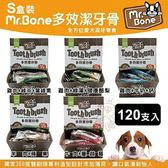 *KING WANG*Mr.Bone《多效潔牙骨盒裝-S120支入 M60支入二種尺寸可選擇》盒裝 犬適用