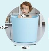 大號加厚洗澡桶兒童浴桶寶寶嬰兒浴盆家用塑料小孩泡澡桶沐浴桶