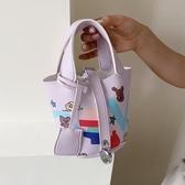 水桶包 夏天小包包2020新款潮時尚流行水桶包百搭ins斜挎包網紅手提女包