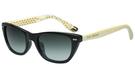 Juicy Couture -時尚太陽眼鏡(黑色+白色鏡腳)